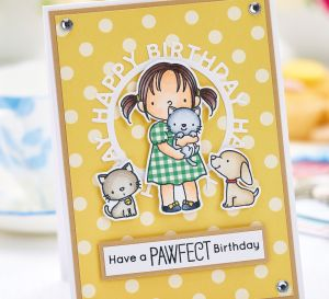 Cute Animal Birthday Card