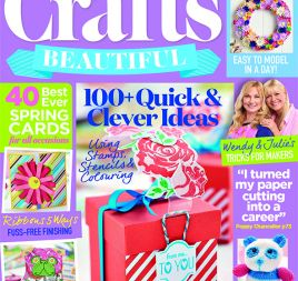 Crafts Beautiful February 2017 Issue 302 Template Pack