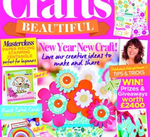 Crafts Beautiful January 2017 Template Pack