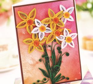 Quilled Spring Flowers