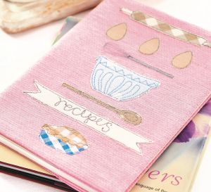 Stitched Recipe Gift Set
