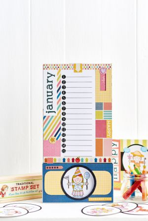 Easy New Year Planner and Card