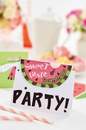 Party Papercrafts With The Silhouette Curio