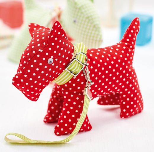 Stitched Scottie Dogs