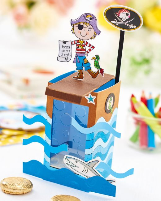 Pirate Birthday Greeting Cards for Kids