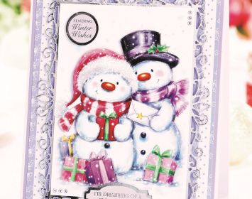 Jolly Christmas Snowmen Card