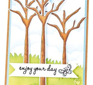 Bonus Projects: docrafts Papermania Forest Stamp Set