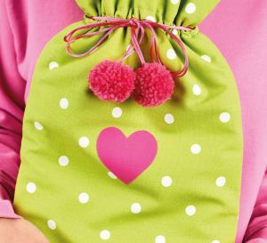 Pom-Pom Hot Water Bottle Cover