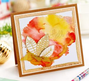 Easy Watercolour Card Backgrounds