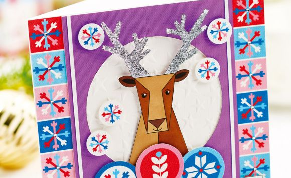 Jolly Papercraft Reindeer