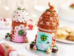 Clay Gingerbread Houses