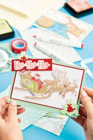 16 Cards Using Your FREE Christmas Stamp Set