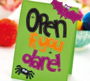 Pop-Up Pumpkin Halloween Card