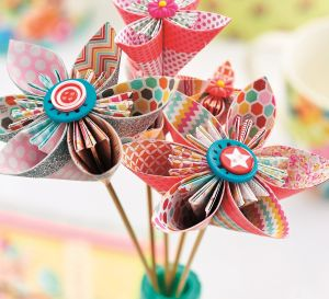 Easy Origami Blooms