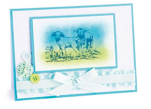 Stamped Spring Greetings