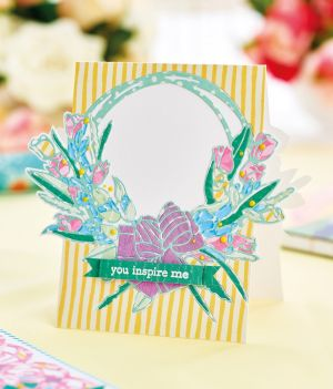 Paper-Pieced Die Cut Greetings