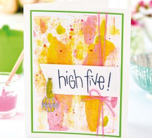 Cactus Ink Effect Cards