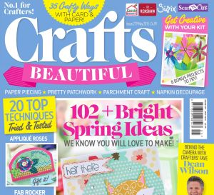 Crafts Beautiful May 2015 Issue 279 Template Pack