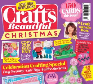 Crafts Beautiful Christmas Special 2017 Issue 311 Template Pack