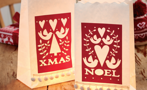 Papercut Candle Bags