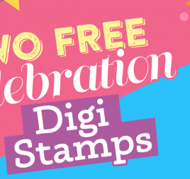 Two FREE Celebration Digi Stamps