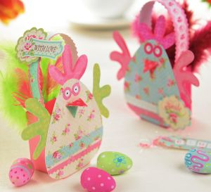 Cheery Easter baskets