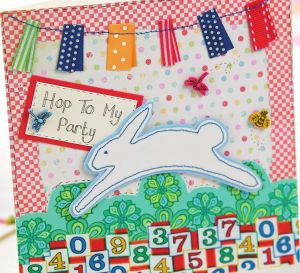 Children's bunny party set