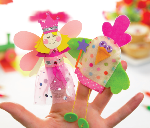 Children's Finger Puppets