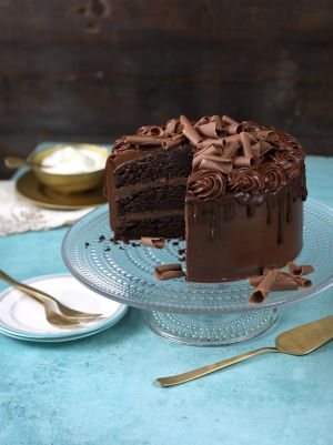 Divine Chocolate Layer Cake