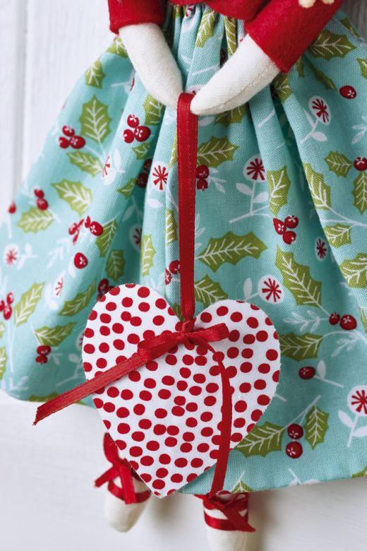 Christmas Angel Free Craft Project Stitching Crafts