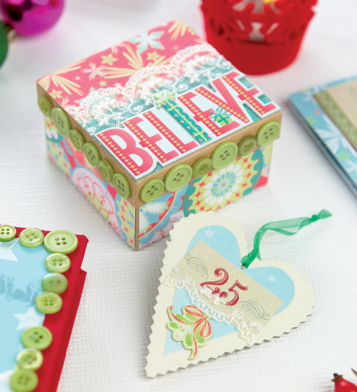 crochet card box instructions