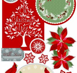 Christmas Sentiments & Toppers