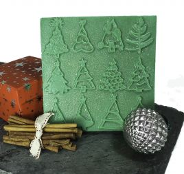 Christmas Tree Tray Soap