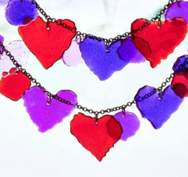 Colour Melt Crystal Necklace