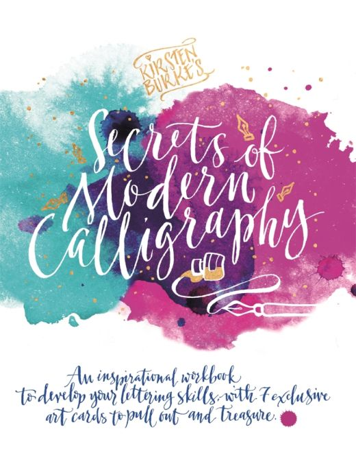 Free secrets of modern calligraphy downloads card