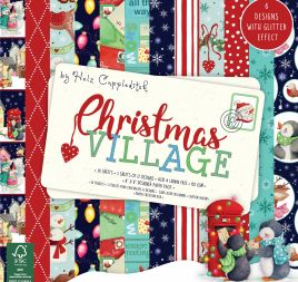 Win a Christmas Village papercraft bundle