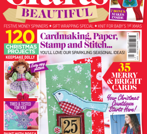 Crafts Beautiful Christmas Special 2014 Issue 272 Template Pack