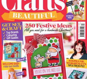 Crafts Beautiful Christmas Special 2015 Issue 285 Template Pack