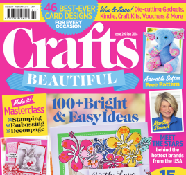 Crafts Beautiful February 2016 Issue 289 Template Pack