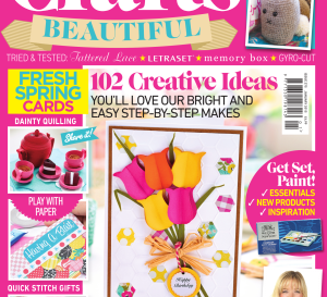 Crafts Beautiful January 2015 Issue 275 Template Pack