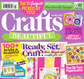 Crafts Beautiful January 2016 Issue 288 Template Pack