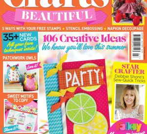 Crafts Beautiful July 2015 Issue 281 Template Pack
