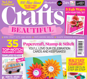 Crafts Beautiful March 2015 Issue 277 Template Pack