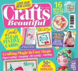 Crafts Beautiful October 2017 Issue 310 Template Pack