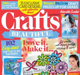 Crafts Beautiful September 2015 Issue 283 Template Pack