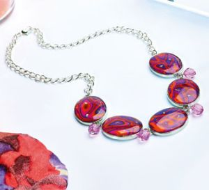 Create a Sixties Style Collection Necklace