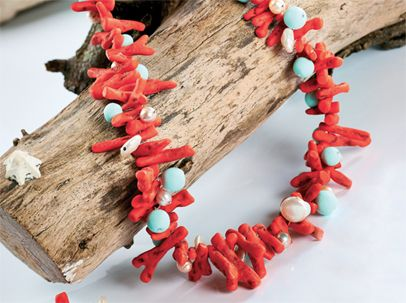 Create A Faux Coral Jewellery Necklace
