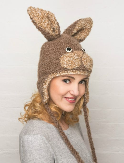 Knitted Bunny Hat