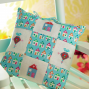 Cross-Stitch Home Cushion