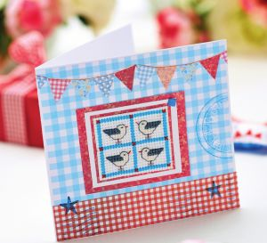 Cross-Stitch And Patchwork Gift Set